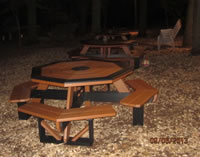 Octogon Picnic Table